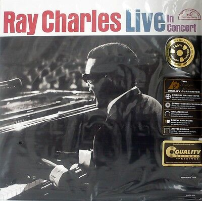 Ray Charles - Live In Concert -  Analogue Productions - Aapp-500 - 200 Gr