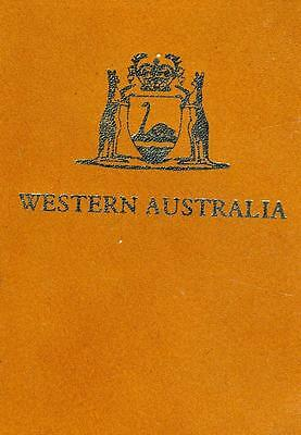 1989 Australian 1/20 oz Gold Nugget Proof in Leather Wallet with Certificate