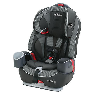 New Graco Nautilus 65 LX 3-in-1 Harness Booster Car Seat - Conley Model:24388854