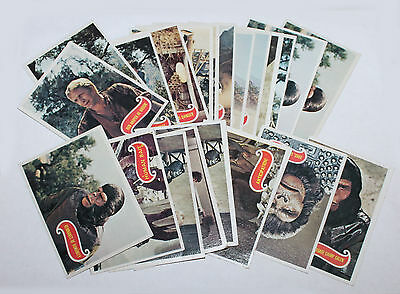 1975 Topps Planet of the Apes Trading Cards Group Lot