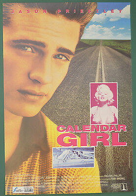 CALENDAR GIRL (1994) Original Belgian Cinema Movie Poster - Jason Priestley