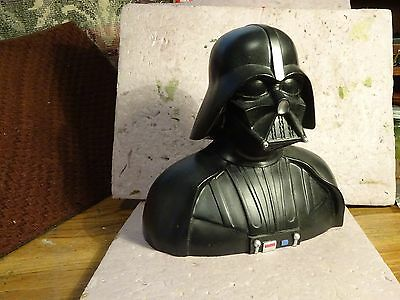 Star Wars Darth Vader Money bank 1994 issue EXC   REDUCED by $20.00