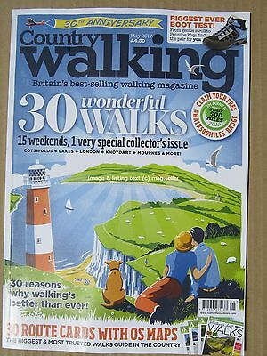 Country Walking May 2017 30 Wonderful Walks Cotswolds Lake District London Boots