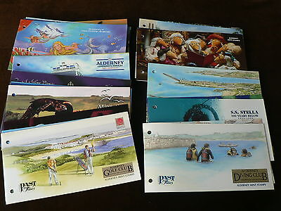 Alderney Presentation Packs, Various Sold Individually, Mint Stamps, 1998 - 2006
