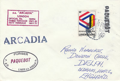 Luxembourg 4234 - 1969 PAQUEBOT cover to England