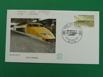 railroads train TGV FDC *more trains in my store* 37492