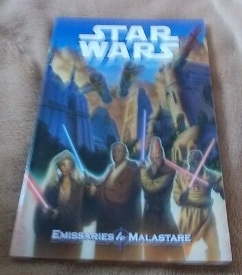 Graphic Novel - Star Wars - Emissaries to Malastare - First Edition August 2001