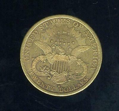 1882 S United States Gold Double Eagle Liberty Head - Free Postage in Australia