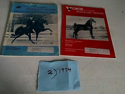 Vintage 1974 Voice of The Tennessee Walking Horse  Magazine (2)