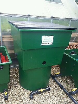 Used yamitsu pump 16000 koi fish pond kockney koi wet or for Used fish pond filters
