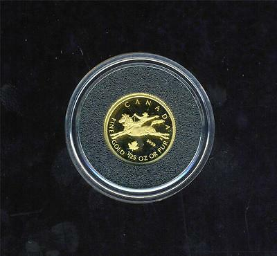 2006 Canada Proof Gold Coin .999 Fine 1.270 grams - Cowboy