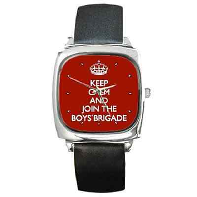 Keep Calm And Join The Boys' Brigade Wristwatch  **superb Gift Item***