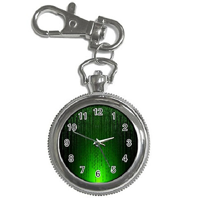 Matrix Style Retro Keychain Watch *great Gift Item**