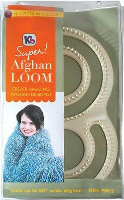 """Authentic knitting board 60""""Wide Super Afghan Loom kit Knit a 60"""" wide KB8000"""