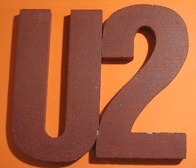 U2 The Unforgettable Fire, Rare USA Promo Record Store Display, Unused
