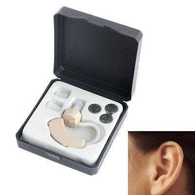 Small In The Ear Invisible Sound Amplifier Adjustable Tone Hearing Aids