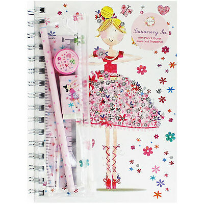 Daisy Patch A5 Notebook and Stationery Set, New Arrivals, Brand New