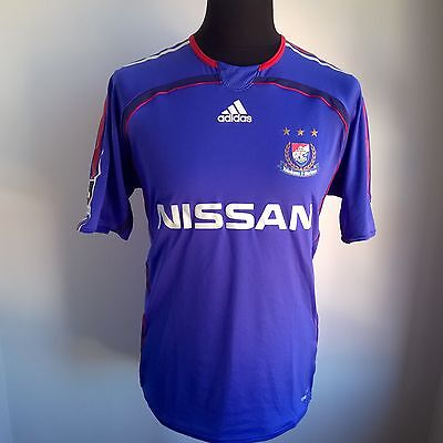 Yokohama Marinos 2006 Home Football Shirt Made In Japan Adidas Size Adult M