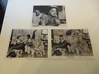 1957 Lot 3 Orig Photos YOUNG AND DANGEROUS Lili Gentle Mark Damon PREGNANT TEEN