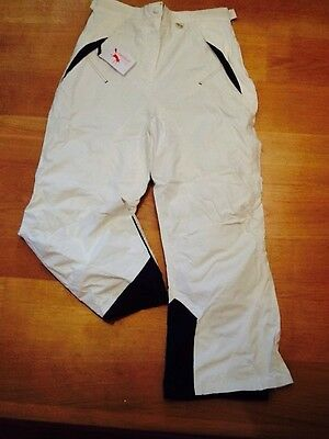 womens ski trousers,size lg(14-16),off white,Outdoor Scene,new,rrp £45