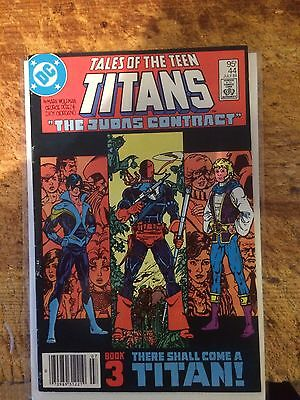 1984 DC Comics Tales of the Teen Titans # 44 1st Nightwing Mid To Higher Grade