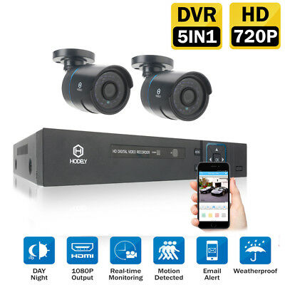 New Outdoor Video 4CH 960H HDMI CCTV DVR Night Vision Camera Security System UK