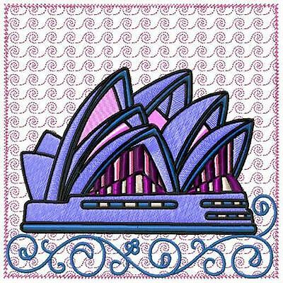 Australian Blocks 10 Machine Embroidery Designs Cd 3 Sizes Included
