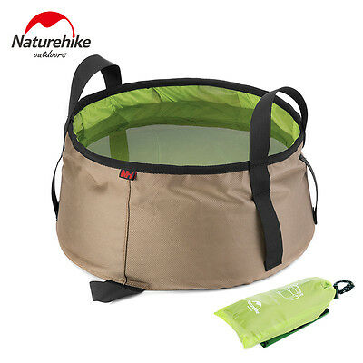 Portable Outdoor Travel Folding Water Bucket Washbowl Bucket Water Pot Camping