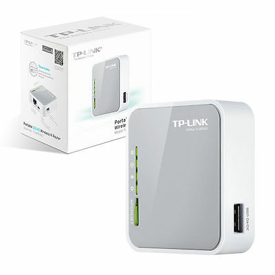 TP-LINK TL-MR3020 Portable 3G/4G USB 2.0 Wireless Travel N Router Access Point