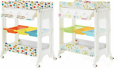 Cosatto EASI PEASI CHANGER Changing Table/Storage Bath/Tub Unit Baby/Toddler BN