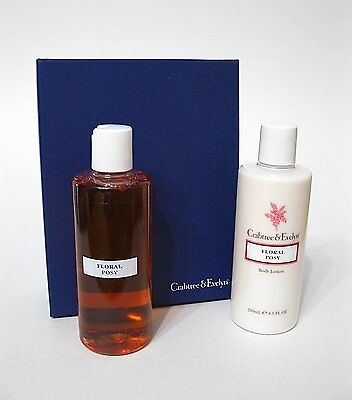 Crabtree & Evelyn Floral Posy Duo Body Wash Body Lotion 250ml ea  FREE Shipping