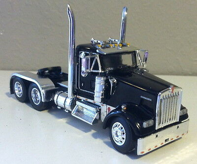 Dcp Black Kenworth Day Cab Only1/64 Diecast 33421