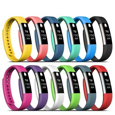 Small/Large Replacement Silicone Band Strap Wristband Bracelet Sport Fitbit Alta