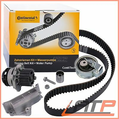 Contitech Timing Cam Belt Kit + Water Pump Vw Sharan 7M 1.9
