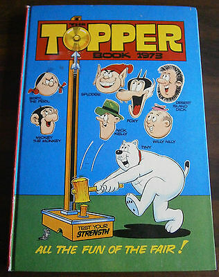 The Topper Book Annual 1973 - Not Price Clipped - D C Thomson - Beryl The Peril