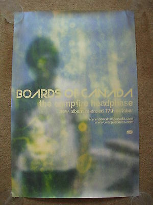 Boards of Canada - Campfire Headphase - PROMO POSTER