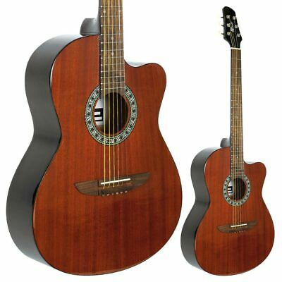 LINDO Apprentice Full Size Mahogany Top Acoustic Guitar FREE Carry Case Bargain