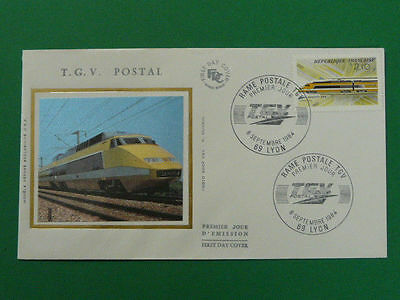 railroads train TGV FDC *more trains in my store* 37494