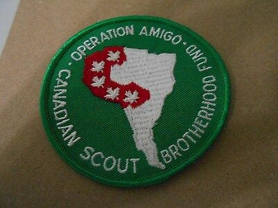 (Yk6-R) Operation Amigo  Canadian Scout Brotherhood Fund  Canadian Scout Badges
