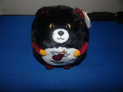 Ty Beanie Ballz Miami Heat New