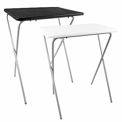Folding Lightweight Tray Table Desk Ideal For Laptops Camping TV Dinner BBQ