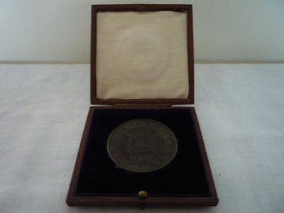 1970 HUDSON BAY COMPANY 45mm NONSUCH MEDAL FITTED LEATHER CASED