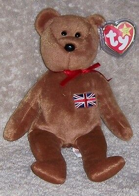 BRITANNIA Ty Beanie Baby MINT WITH MINT TAGS