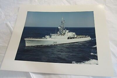 HMCS Nipigon 266 Royal Canadian Navy Destroyer 11x14 Photograph Military Ship