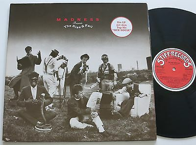 Madness Presents The Rise & Fall Orig Stiff Records Lp Vg++
