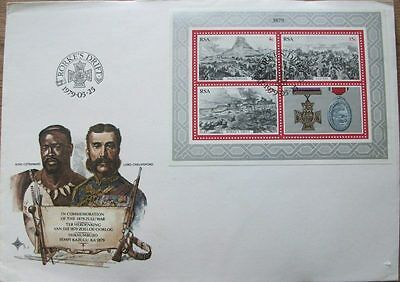 First Day Cover: Rorke's Drift. In Commemoration of the 1879 Zulu War PT S.3