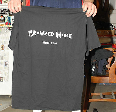 Crowded House Tour Crew T Shirt 2007 Upstaging Australia Pop Finn Tim Neil