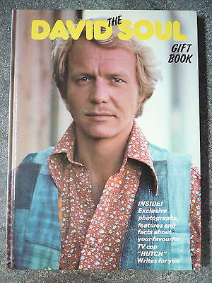 The David Soul Gift Book Starsky And Hutch Unclipped & Unmarked Vintage Annual