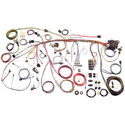 American Autowire 510177 Mustang Wiring Harness Classic Kit 1969