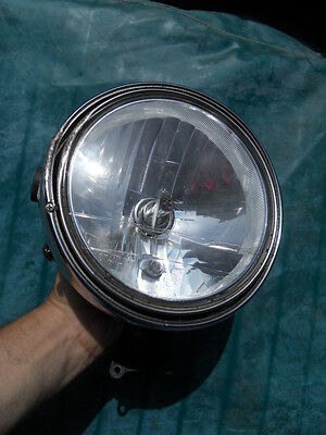 Vintage lamp light feu lampe ancien phare de moto STANLEY Japan